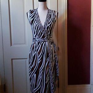 Diane Von Furstenberg wrap dress 6 NWT